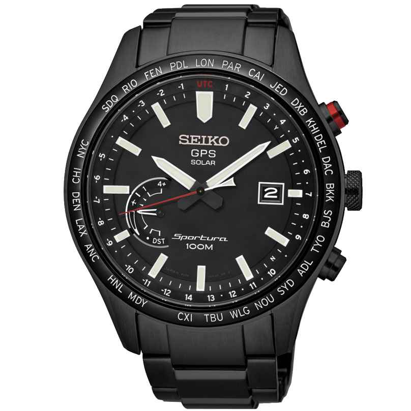 Seiko SSF005J1 Sportura GPS Solar Gents Watch 4954628204813