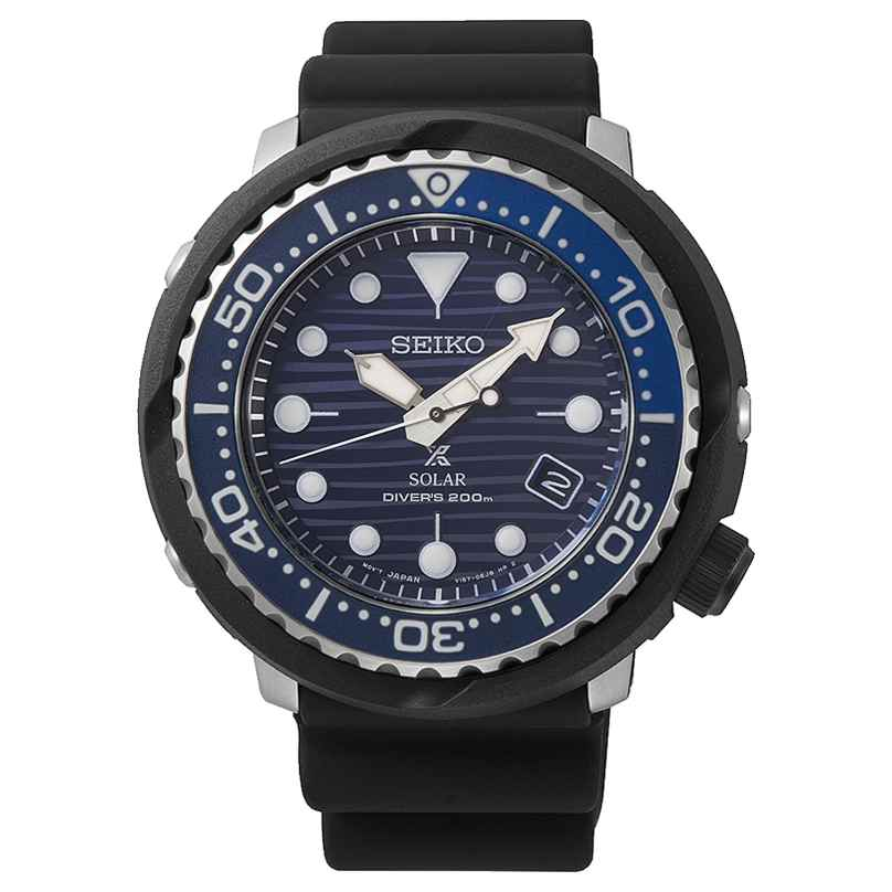 Seiko SNE518P1 Prospex Tuna Solar Herren-Taucheruhr Save the Ocean 4954628227560