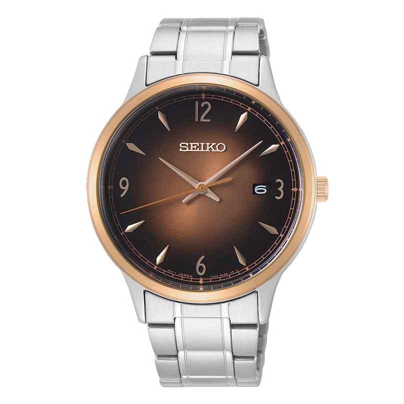Seiko SGEH90P1 Quarz-Herrenuhr 10 bar Wasserdicht 4954628230164