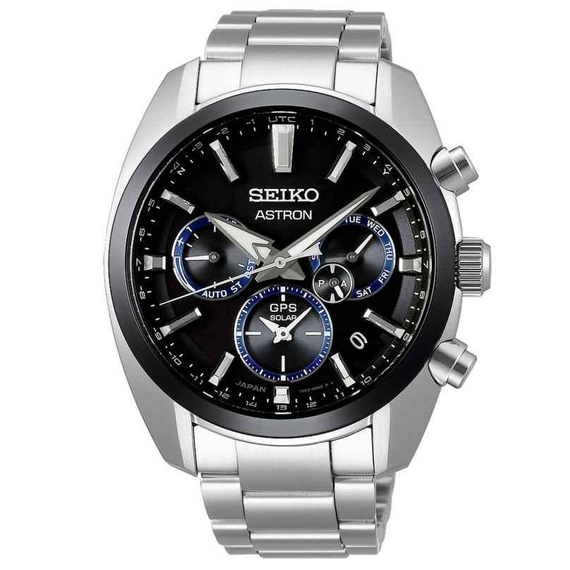 Seiko SSH053J1 Astron GPS Solar Herrenuhr Dual Time 4954628234506