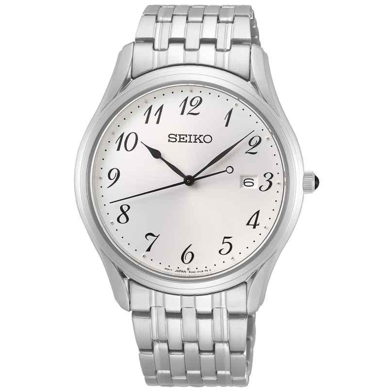 Seiko SUR299P1 Herren-Armbanduhr mit Saphirglas und Stahlband 4954628233318