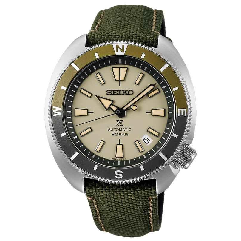 Seiko SRPG13K1 Prospex Land Tortoise Men's Watch Automatic Green 4954628240965