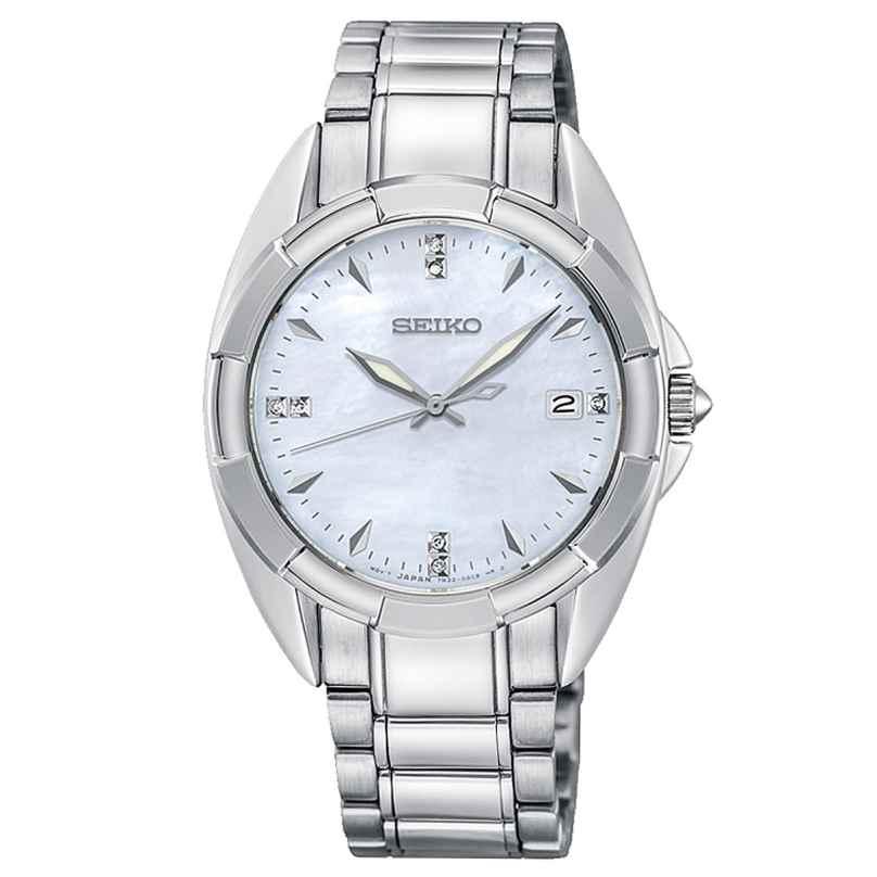 Seiko SKK885P1 Damen-Armbanduhr mit 7 Diamanten 4954628225214