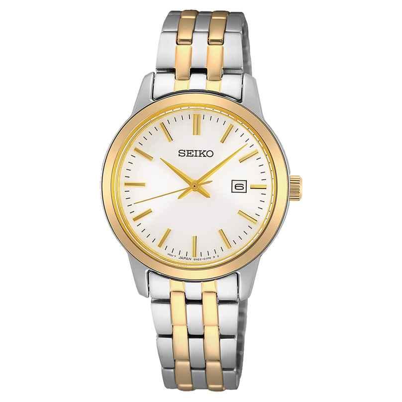 Seiko SUR410P1 Damen-Armbanduhr zweifarbig 4954628238825