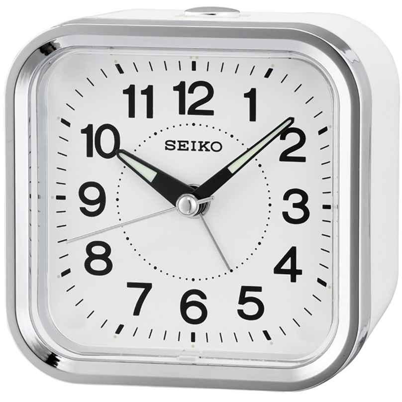 Seiko QHE130W Wecker mit Leisegang 4517228829994