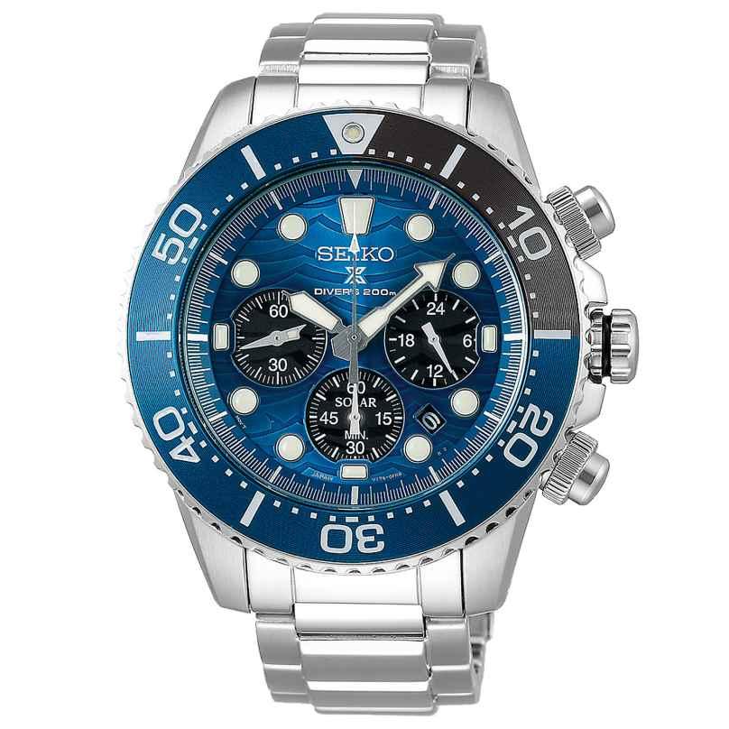 Seiko SSC741P1 Prospex Solar Diver Herren-Chronograph - Special Edition 2019 4954628230195
