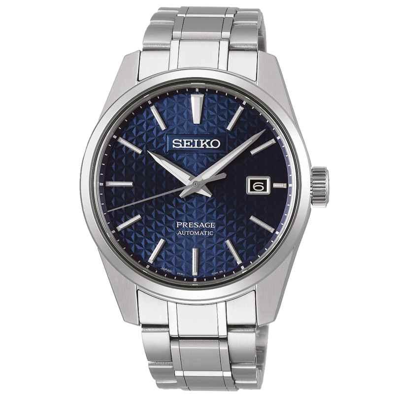 Seiko SPB167J1 Presage Automatik-Herrenuhr Blau 4954628235282