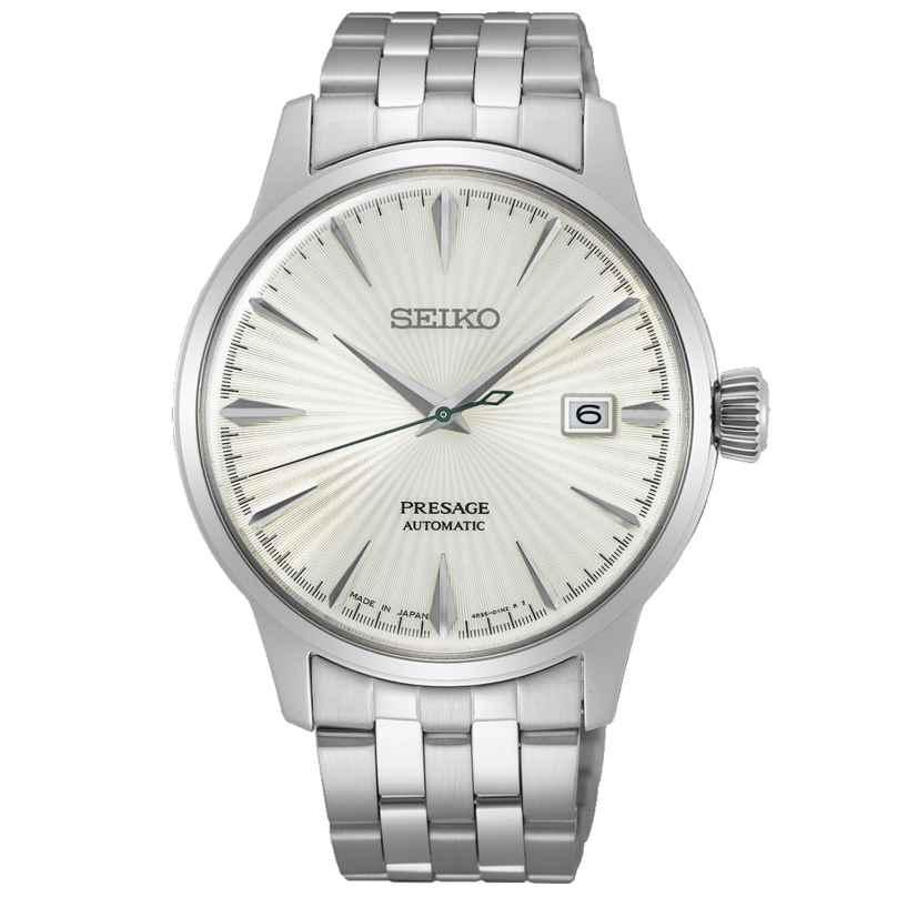 Seiko SRPG23J1 Presage Automatikuhr für Herren Silberfarben 4954628241153