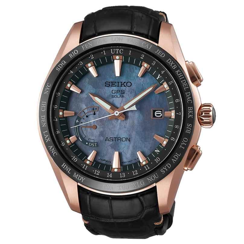 Seiko SSE105J1 Mens Watch Astron GPS Novak Djokovic Limited Edition 4954628208590