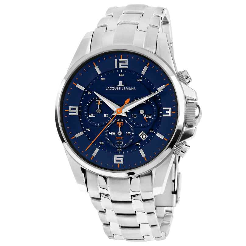 Jacques Lemans 1-1799H Herren-Chronograph Liverpool 4040662124368
