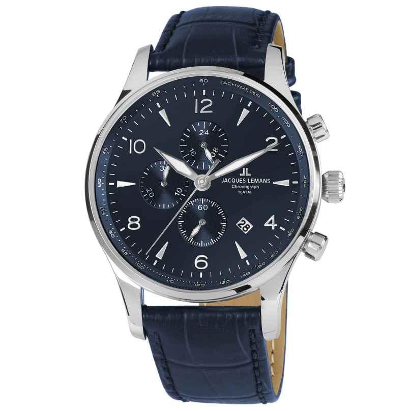 Jacques Lemans 1-1844ZC Herrenuhr Chronograph London 4040662136682
