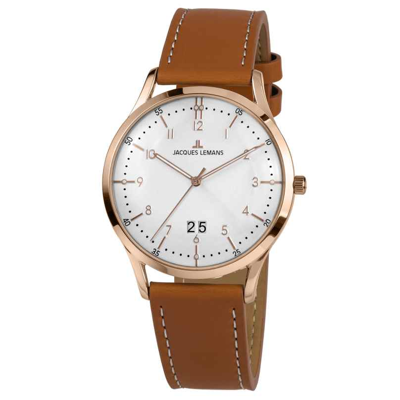 Jacques Lemans 1-2066F Armbanduhr für Herren Retro Classic 4040662156536