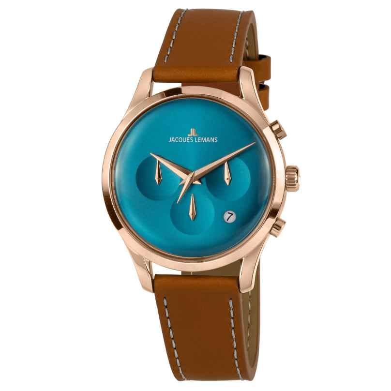 Jacques Lemans 1-2067F Unisex Armbanduhr Retro Classic 4040662156598