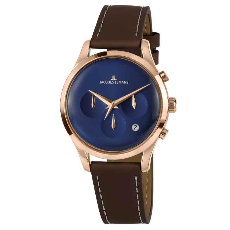 Jacques Lemans 1-2067G Unisex Wristwatch Retro Classic 4040662156604