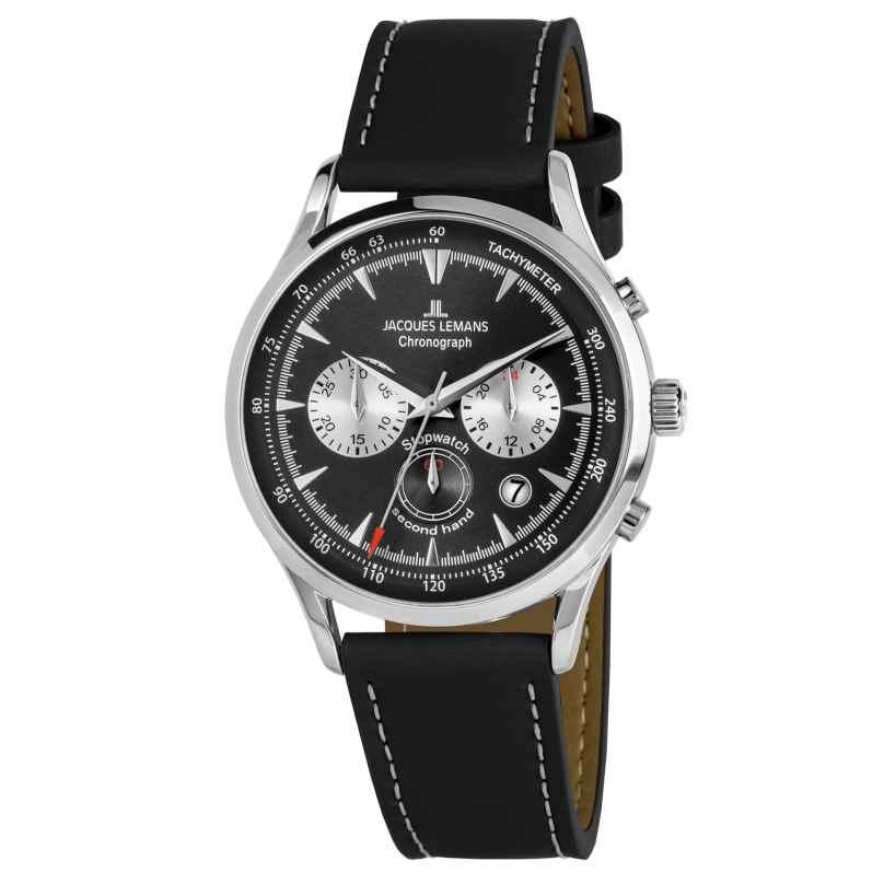 Jacques Lemans 1-2068A Herren-Chronograph Retro Classic 4040662156628