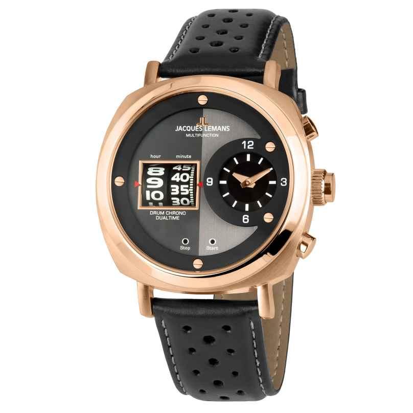 Jacques Lemans 1-2058C Herren-Chronograph Lugano 4040662146216