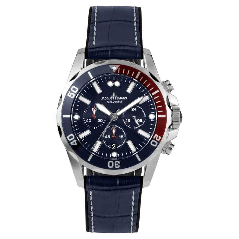 Jacques Lemans 1-2091B Herren Chronograph Liverpool Diver 4040662160908