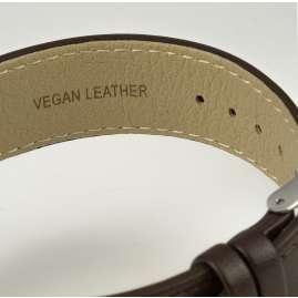 Jacques Lemans 1-2105A Eco-Power Unisex-Armbanduhr Solar Dunkelbraun