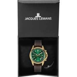Jacques Lemans 1-2117H Chronograph für Herren Liverpool Braun/Grün