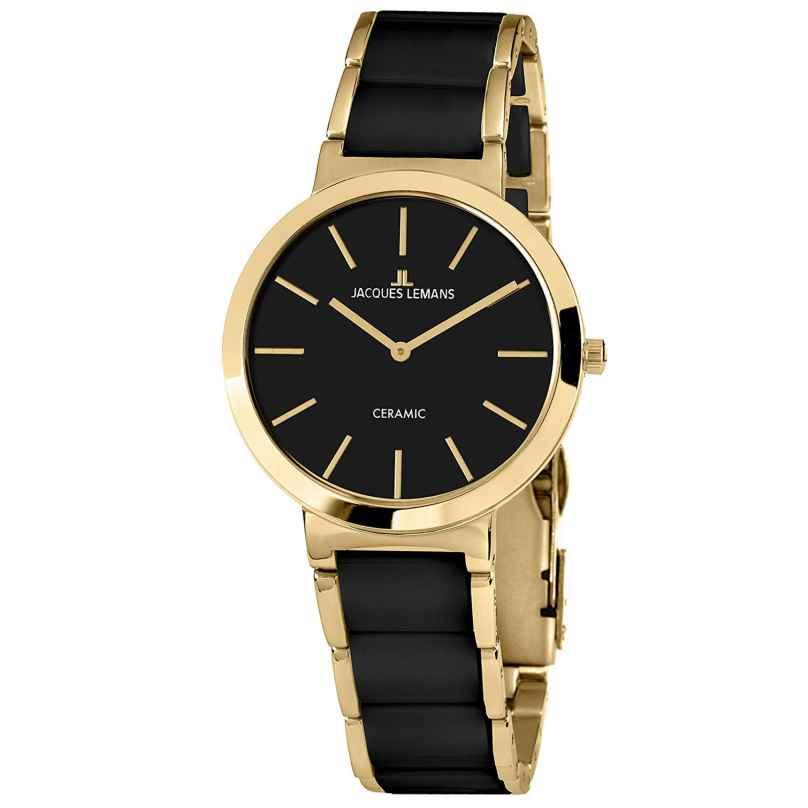 Jacques Lemans 1-1999C Ladies´ Wristwatch Ceramic Milano 4040662135937