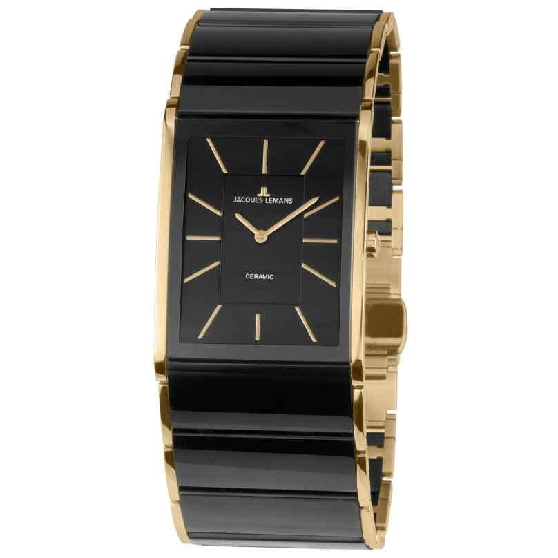 Jacques Lemans 1-1940C Ladies' Watch Dublin Ceramic Black 4040662132745