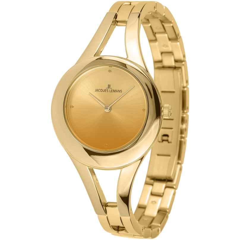 Jacques Lemans 1-2071C Damenuhr Paris Goldfarben 4040662144755