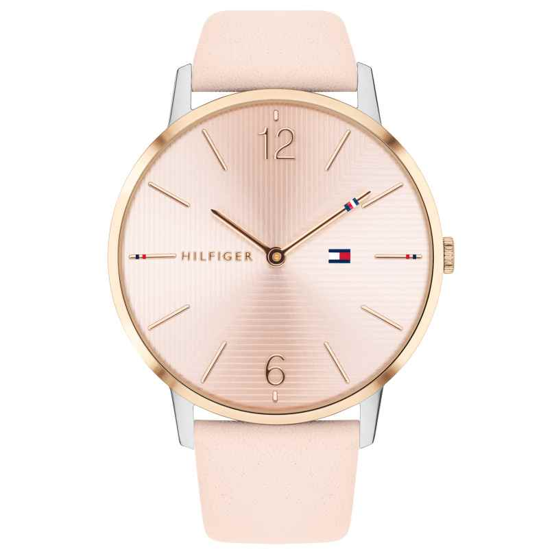 Tommy Hilfiger 1781973 Bicolor-Damenuhr Alex 40 mm 7613272300377
