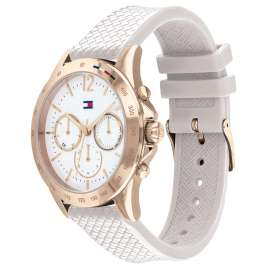 Tommy Hilfiger 1782199 Damenuhr Multifunktion Haven weiß / roségold