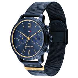 Tommy Hilfiger 1782305 Ladies' Watch Multifunction Blake Blue/Gold Tone