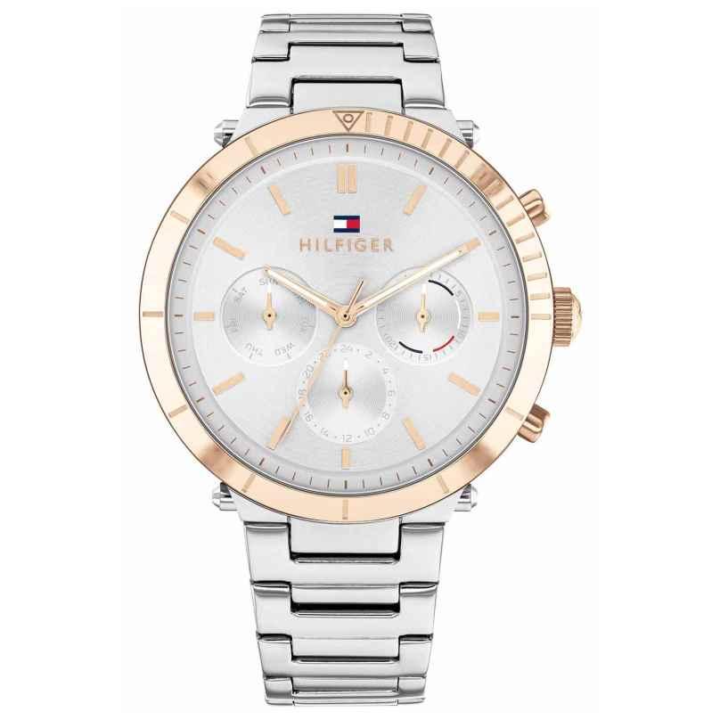 Tommy Hilfiger 1782348 Damen-Armbanduhr Multifunktion Emery Bicolor 7613272425742