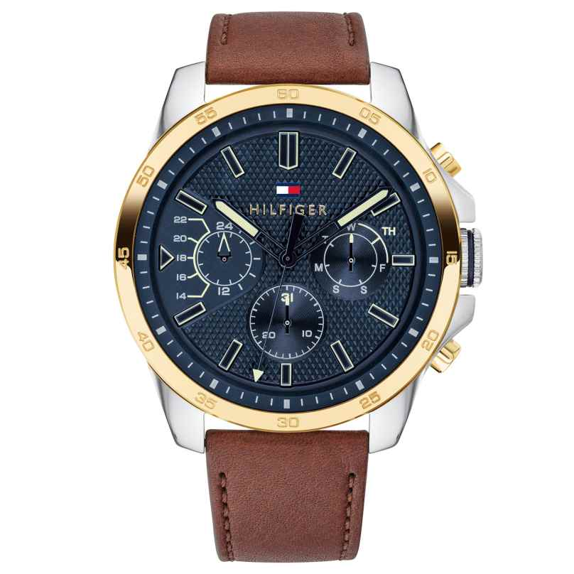 Tommy Hilfiger 1791561 Herrenuhr Multifunktion Decker 7613272300803
