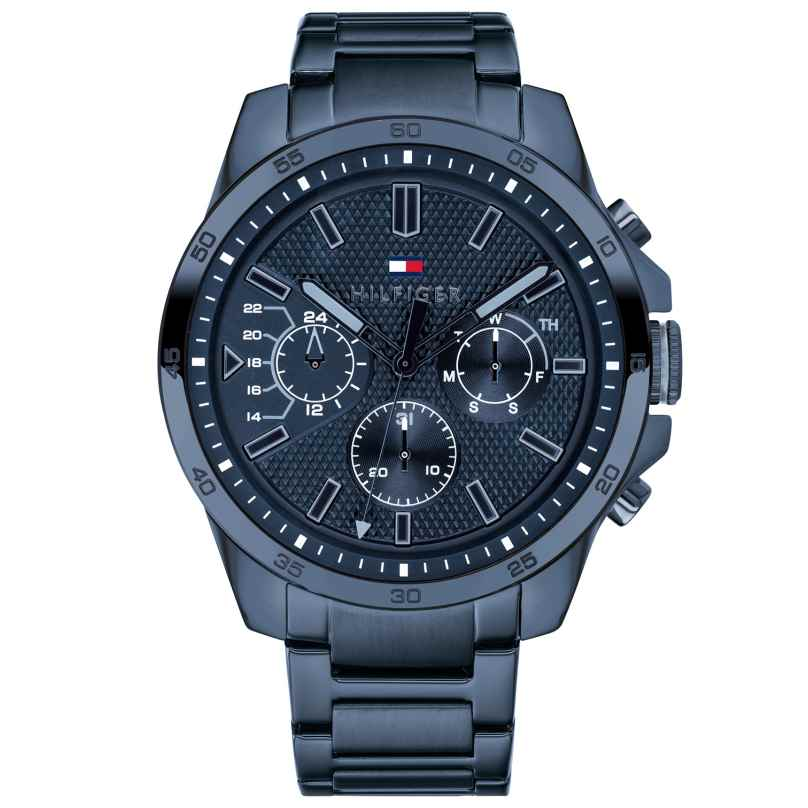 Tommy Hilfiger 1791560 Multifunktions-Herrenuhr Decker 7613272300797