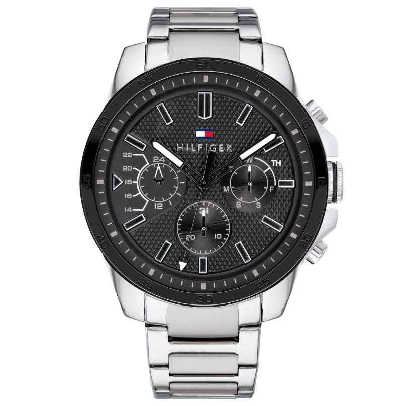 Tommy Hilfiger 1791564 Herrenuhr Multifunktion Decker 7613272300834