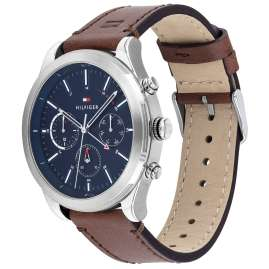 Tommy Hilfiger 1791741 Herrenuhr Multifunktion Ashton Braun / Blau