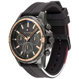 Tommy Hilfiger 1791792 Herrenuhr Multifunktion Mason Anthrazit