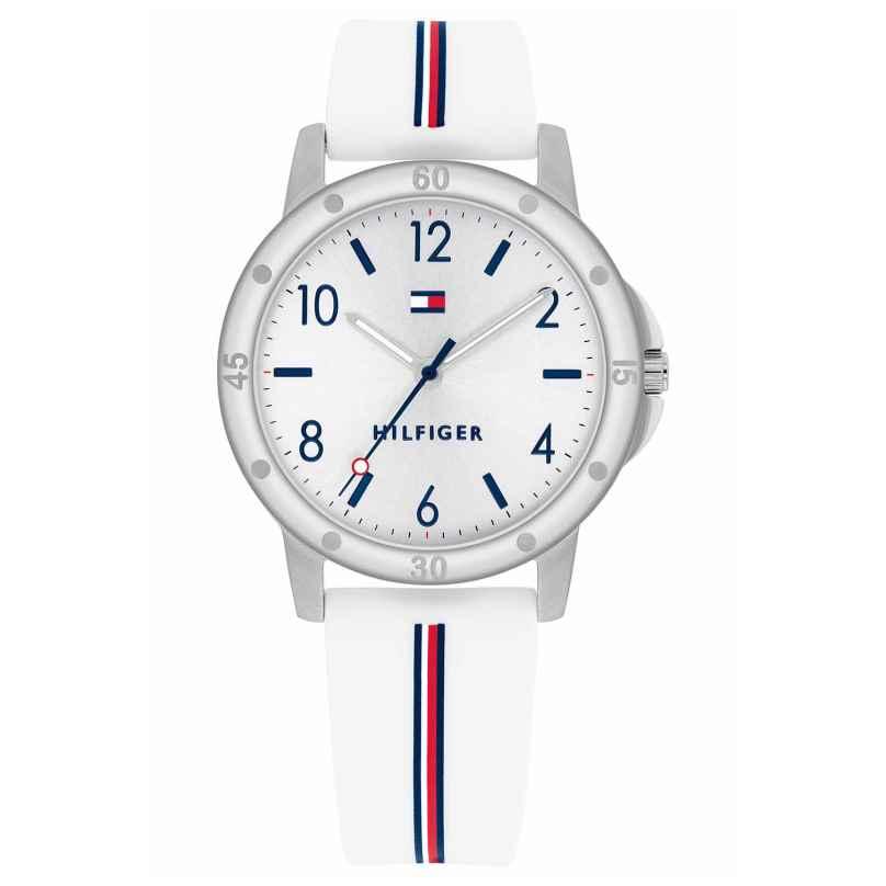 Tommy Hilfiger 1720014 Jugend-Armbanduhr für Mädchen Weiß 7613272427593
