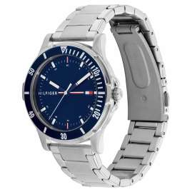 Tommy Hilfiger 1720018 Youth Watch Boys Steel/Dark Blue