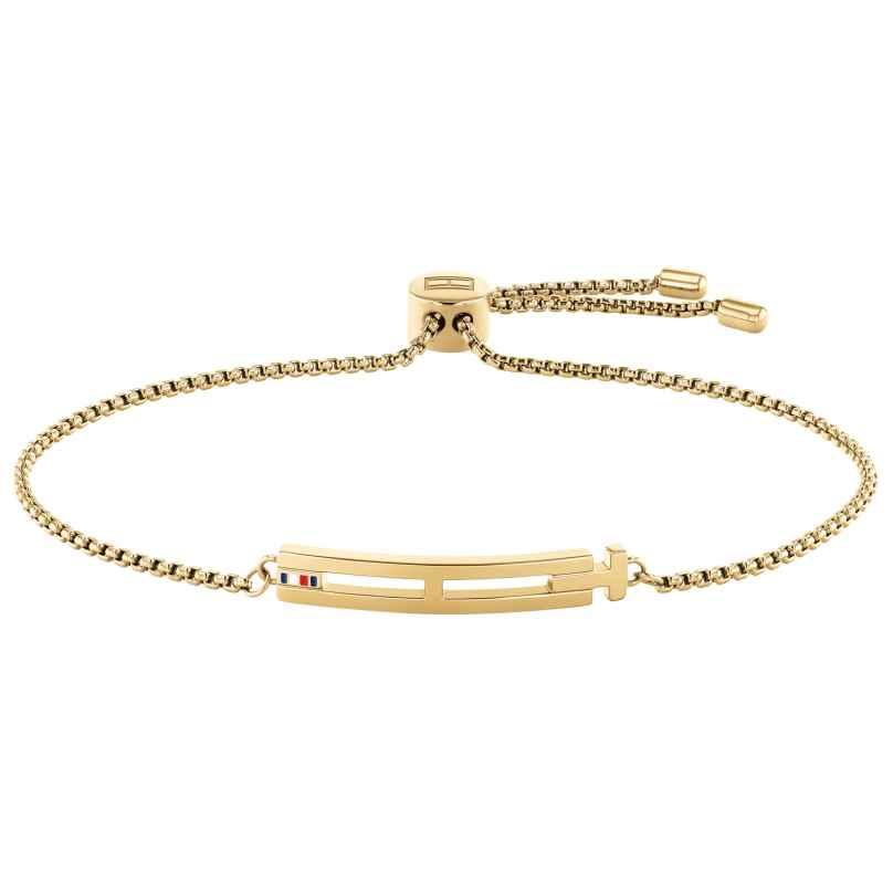 Tommy Hilfiger 2780415 Damen-Armband Edelstahl gold plattiert 7613272411981