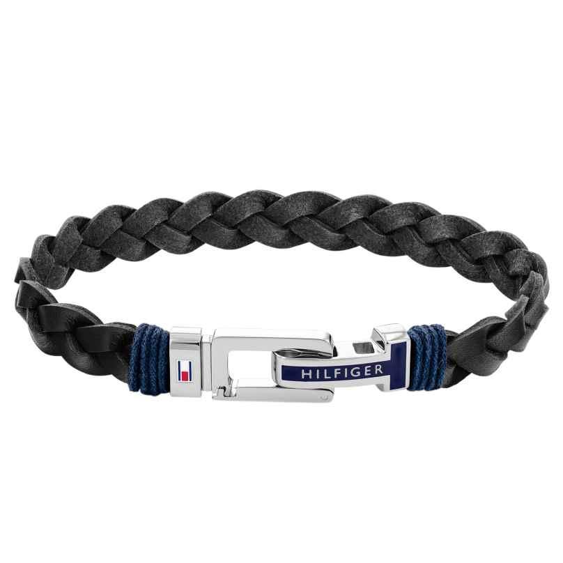 Tommy Hilfiger 2790307 Men's Bracelet Black Leather 7613272426909