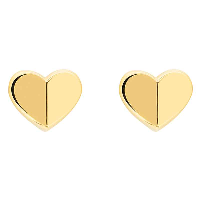 Tommy Hilfiger 2780300 Women's Stud Earrings Heart Gold Plated Steel 7613272380843