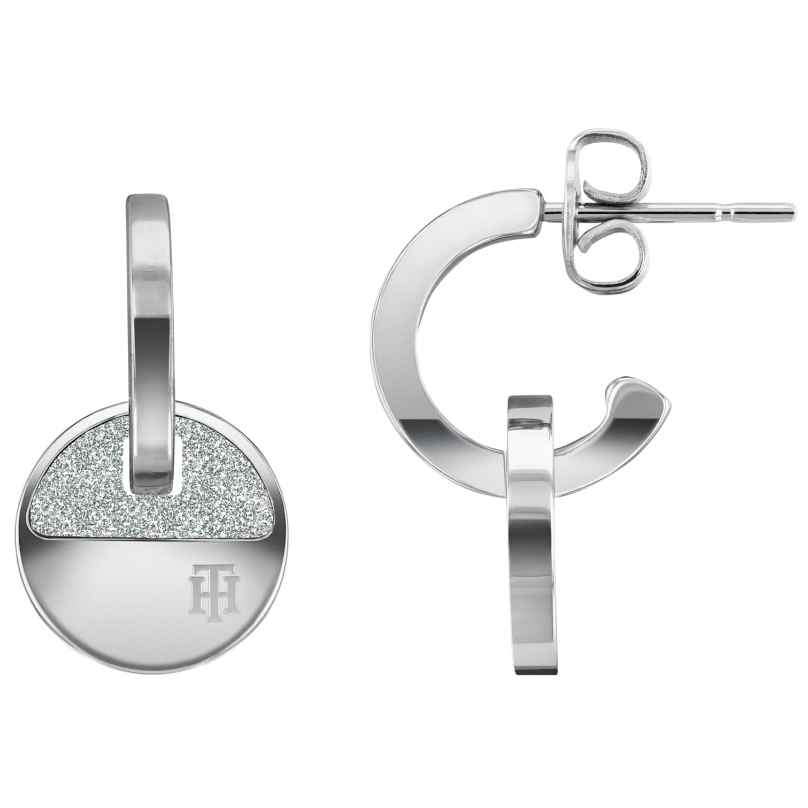 Tommy Hilfiger 2780459 Ladies' Hoop Earrings Stainless Steel Dressed Up 7613272412421