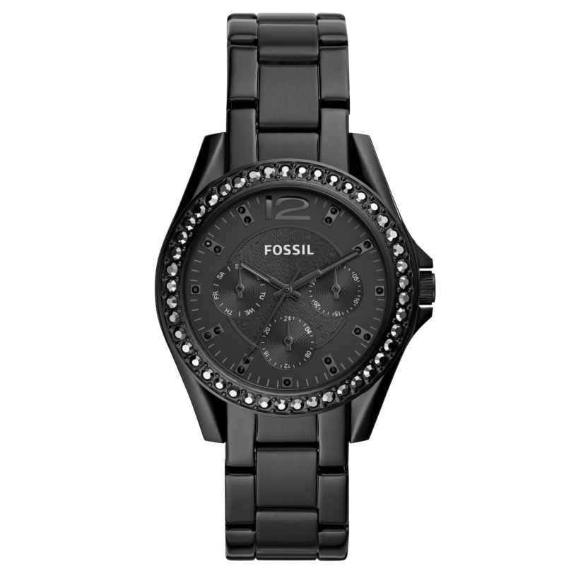 Fossil ES4519 Damenuhr Multifunktion Riley 4013496259681
