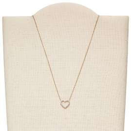 Fossil JF03086791 Ladies´ Necklace Vintage Glitz