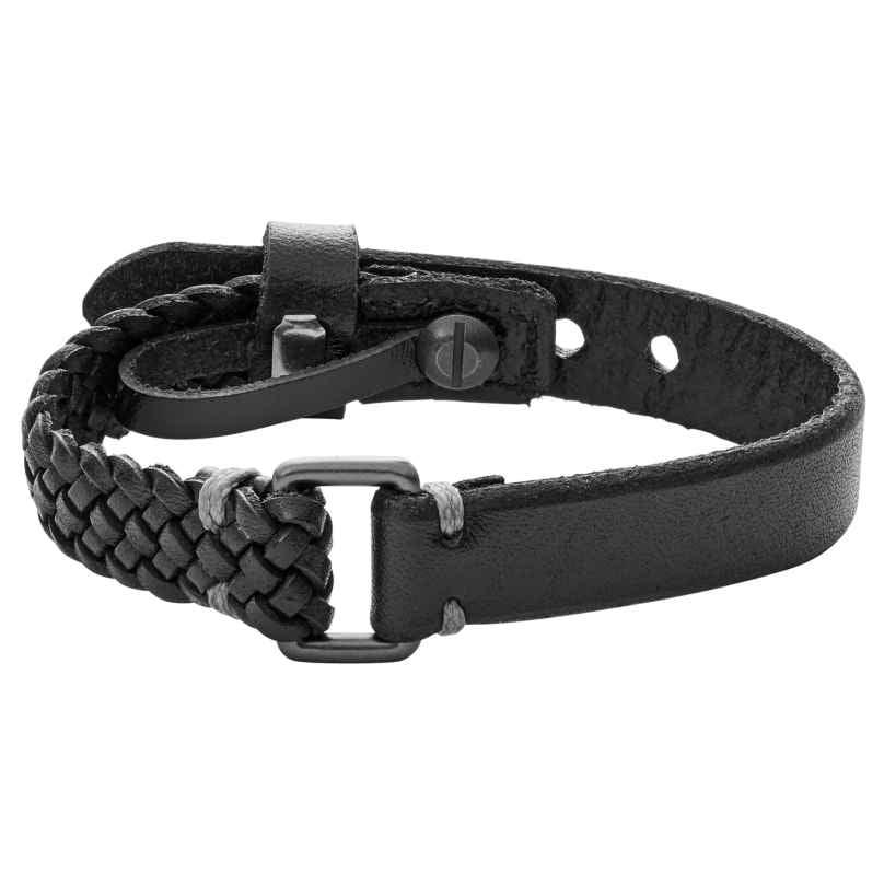 Fossil JA6932001 Leder-Armband für Herren 4053858967205