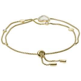 Fossil JF03216710 Damen-Armband Vintage Glitz Herz