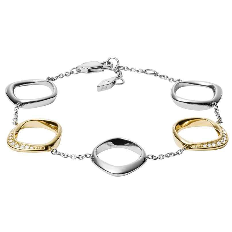 Fossil JF03201998 Damen-Armband Twisted 4013496538946