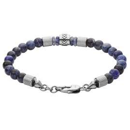 Fossil JF03443040 Men's Bracelet Heritage Blue Sodalite