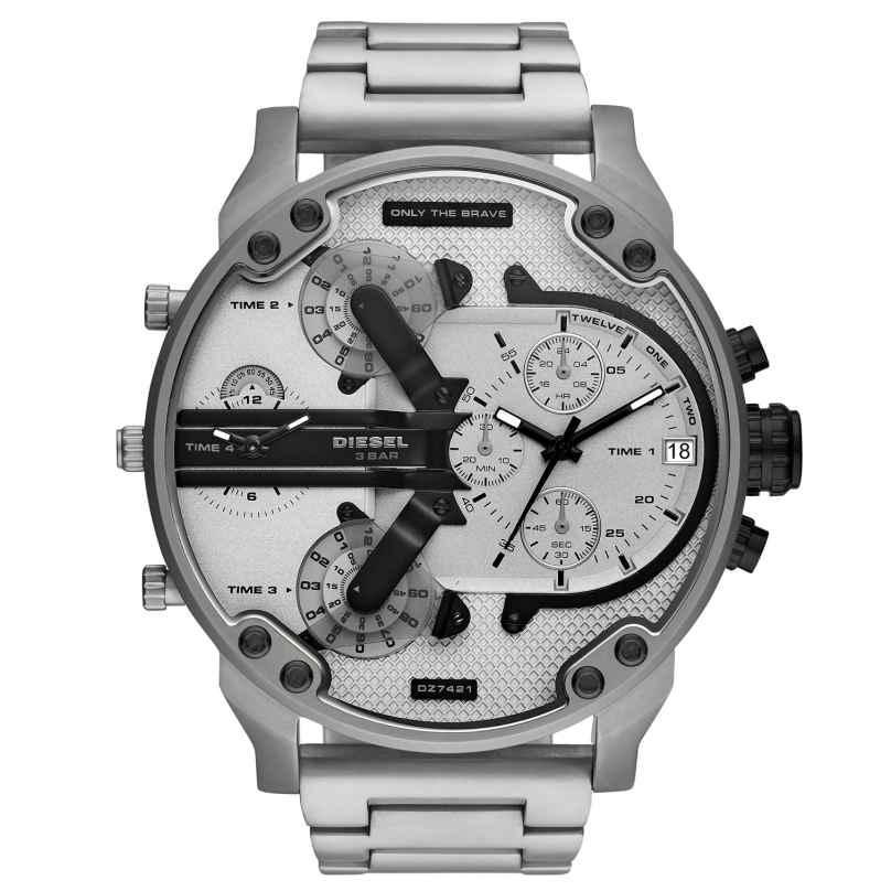 Diesel DZ7421 Men´s Wristwatch Chronograph Mr. Daddy 2.0 4013496217179