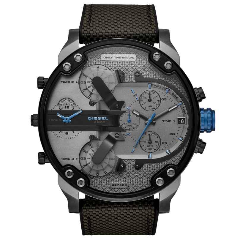 Diesel DZ7420 Men´s Wristwatch Chronograph Mr. Daddy 2.0 4013496217186