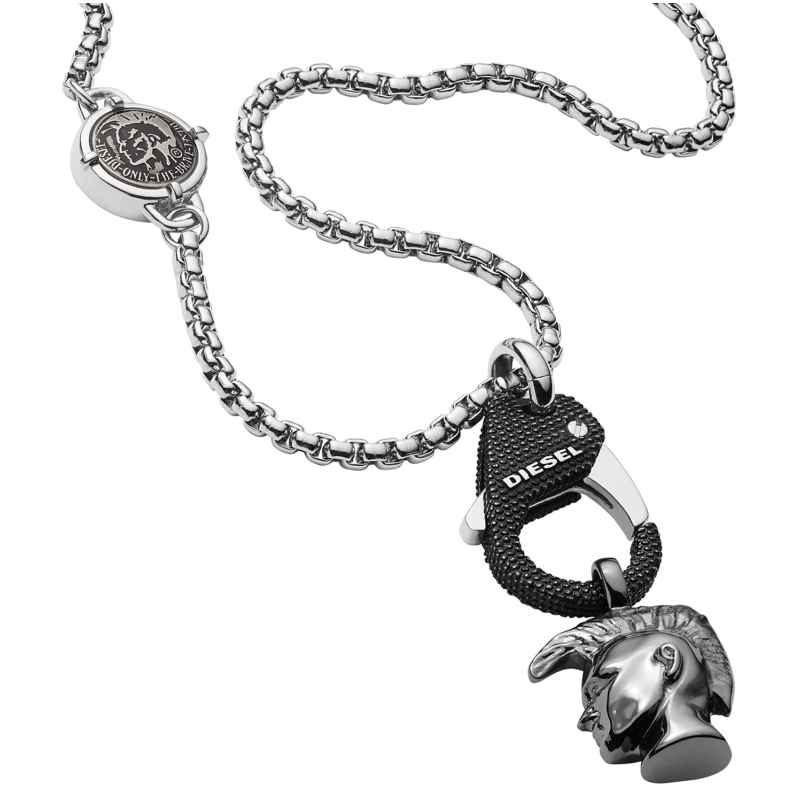 Diesel DX1148040 Herrencollier Single Pendant 4051432780950